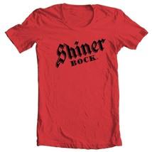 Shiner Bock T-shirt German beer 100% cotton printed gold graphic printed tee image 2