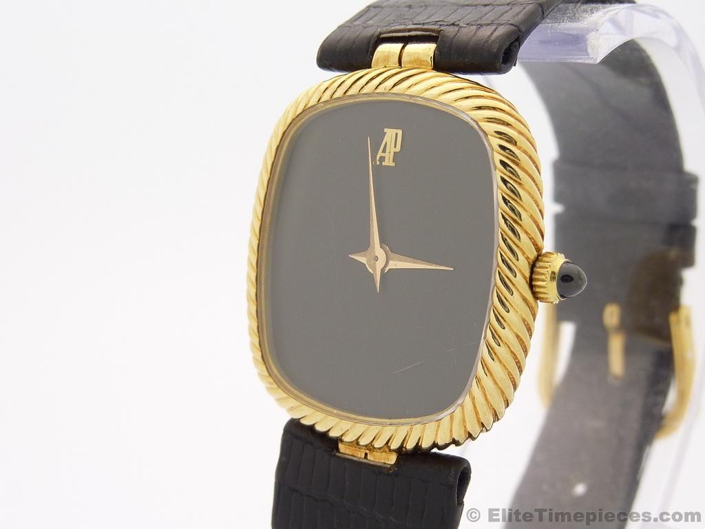 Audemars Piguet 18K Solid Gold Classical Ladies Vintage Swiss Watch, Ref. 5897BA