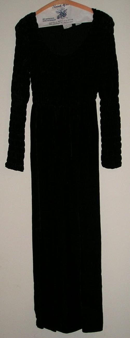 Moda int l womens black dress s