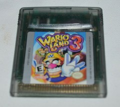 Wario Land 3 Clear (Nintendo Game Boy Color, 2000) CARTRIDGE ONLY - $22.80