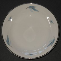 "Syracuse China Celeste White Blue Silver 5"" Sauce Condiment Dessert Bowl... - $8.91"