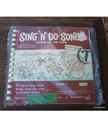"Vintage Evelyn Atwater - Sing 'N Do Songs ""Down... - $20.00"