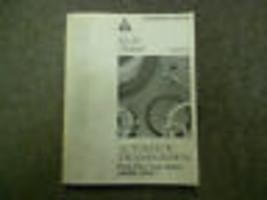 1994 MITSUBISHI Automatic Transmission Overhaul Service Manual OEM Preliminary - $39.55