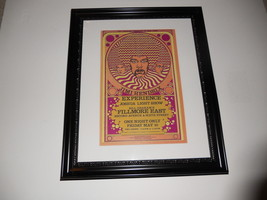 "Large Framed Jimi Hendrix 1968 Joshua Light Show Handbill Poster 24"" by 20"" - $65.00"