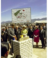 President John F. Kennedy and Jackie at housing project Colombia New 8x1... - $8.81