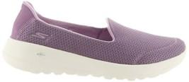 Skechers GO Walk Joy Slip-on Shoes Radiant Lavender 7W NEW A302183 - $48.49