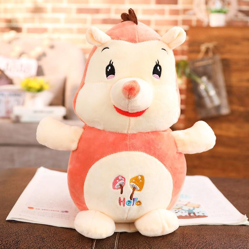 "IKASA 80cm/31"" Giant Plush Hedgehog Animal Toy"