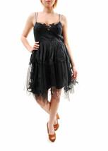 Free People Women's Authentic Gossamer Mini Dress Black  Size 4 RRP £ 21... - $195.39