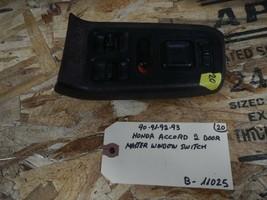 1990-1991-1992-1993 HONDA ACCORD 2 DOOR MASTER WINDOW  SWITCH  (BOX-11025) - $39.55