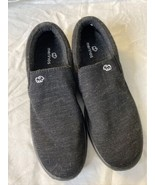 Merinos Women's Slip On Lightweight Merino Wool Shoes in Black Size 8 - $44.99