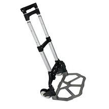Aluminum 170lbs Cart Folding Dolly Collapsible Trolley Push Hand Truck M... - $22.99