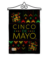 Serape Cinco de Mayo Burlap - Impressions Decorative Metal Wall Hanger G... - $33.97