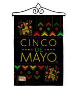 Serape Cinco de Mayo Burlap - Impressions Decorative Metal Wall Hanger G... - £24.12 GBP