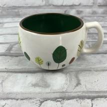Starbucks Coffee Tea Mug Cup Autumn Fall Thanksgiving Leaves Design 9 oz 2007  - $15.44