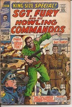 Marvel Sgt Fury And His Howling Commandos King Size Special #5 The Deser... - $2.95
