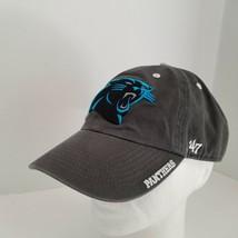 NFL Carolina Panthers Baseball Cap 47 Brand Dark Gray Adjustable Strapback  - €17,52 EUR