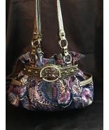 Kathy van Zeeland Purple/Blue Shoulder Bag, NWOT - $44.10