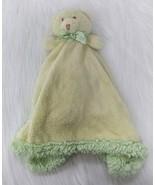Blankets & Beyond Bear Baby Lovey & Security Yellow Green Fleece Boy Girl B205 - $16.99