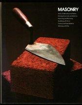 Masonry Time-Life Books - $4.95