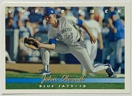 1993 Upper Deck #344 John Olerud Toronto Blue Jays Baseball Card - $2.44