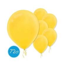 """Yellow Sunshine Latex Balloons 12"""" 72 Ct - $7.91"""