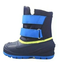 Cat & Jack Toddler Boys Blue Lev Faux Fur Thermolite Insulted Winter Snow Boots