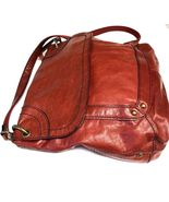 Fossil Me We Leather Cross Body Messenger Handbag Purse - $40.00