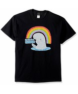 Disney Mens Finding Dory Life's a Rainbow Bailey Beluga Whale T-Shirt Sz... - $10.50