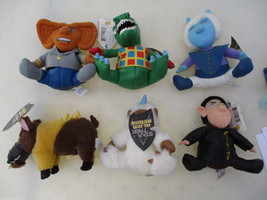 Star Trek Plush Doll Figure Set Limited Edition TOS TNG Classic Sci Fi 1998  - $87.05
