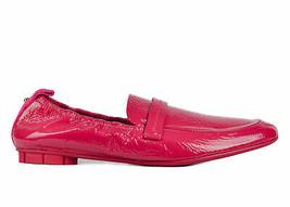 Salvatore Ferragamo Womens Hot Pink Patent Leather Lipari Loafers US 7.5 RTL$495 - $308.75