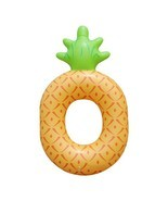 Inflatable Pineapple Swimming Ring Giant Pool Float Mattress Inflatable Toy - $16.82