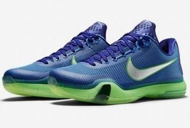 "Mens Nike KOBE X Basketball Shoes ""Emerald City"" -705317 402   - $264.65 CAD"