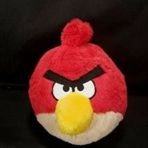 "Angry Birds Red Bird 5"" Plush Stuffed Animal No Sound Commonwealth - $8.90"