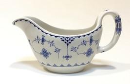 Furnivals Blue Denmark Gravy Boat Bowl  - $24.73