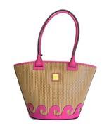 Dooney & Bourke Atlantic Tote Bag ~ Magenta Hot Pink Waves Purse New NWT... - $198.95