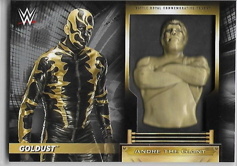 Primary image for 2018 Goldust Topps Road to WrestleMania Andre the Giant Battle Royal Silver