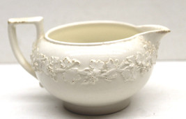 Vintage Wedgwood England Queensware Grape Leaves Creamer Wine Boat Small - $32.71