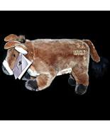 Vtg JJ Mahoneys Grand Hyatt Steakhouse Seoul Korea Beef Steer Plush Toy ... - $34.99