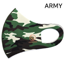 Copper Infused Face Mask Reusable Washable (Made In Korea) Military ARMY... - $8.91