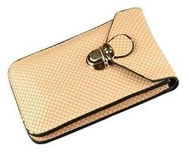 Universale pelle Pu Cellulare Borsa Marsupio per Iphone Galaxy Ecc. Crem... - $9.00