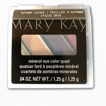 Mary Kay Eye Shadow Autumn Leaves Mineral Eye Color Quad 075233 - $17.59