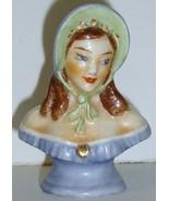 Beautifully Painted Half Doll Pin Cushion Doll ... - $12.99