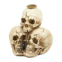 5Triple Skull Candleholder - $24.06