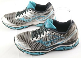 Mizuno Wave Enigma 5 Running Shoes Size 7.5 Womens Blue Silver Athletic ... - $25.20