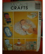 McCall's Sewing Pattern 2824 Craft Baby Covers and Organizers - $14.84
