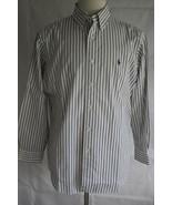 Ralph Lauren Men's Long Sleeve Classic Fit Button Down Dress Shirt Size ... - $19.79