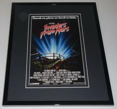 Invaders From Mars Framed 8x10 Repro Poster Display Tobe Hooper Karen Black - $32.36
