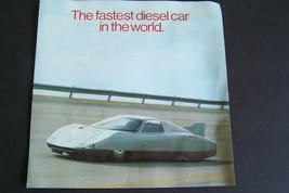 mercedes c111 diesel sales brochure fastest diesel car in the world - $19.99