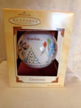 Hallmark Grandma Keepsake Christmas Ornament dated 2002 (#2651) - $9.99