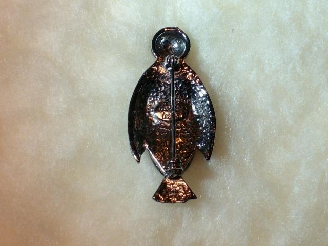 Cookie Lee Penguin Brooch - Item #72043 - New! image 4